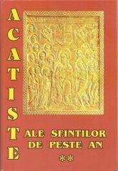Acatiste ale Sfintilor de peste an (II)