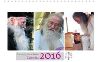 Calendar de birou 2016 - Justin Parvu