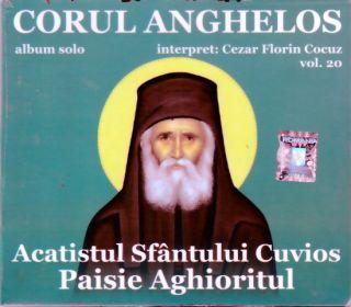 CD - Acatisul Sfantului Cuvios Paisie Aghioritul