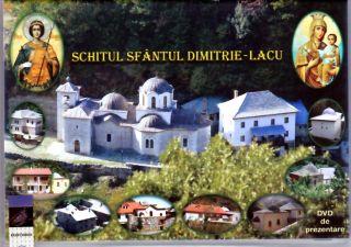 DVD - Schitul Sfantul Dimitrie - Lacu