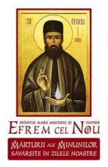 Sf. Efrem cel Nou - marturii ale minunilor savarsite in zilele noastre - Vol. 1