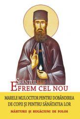 Sfantul Efrem cel Nou, marele mijlocitor pentru dobandirea de copii si pentru sanatatea lor