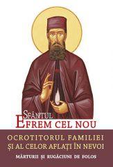 Sfantul Efrem cel Nou - Ocrotirorul familiei si al celor aflati in nevoi