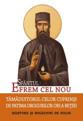 Sfantul Efrem cel Nou - Tamaduitorul celor cuprinsi de patima drogurilor ori a betiei