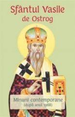 Sfantul Vasile de Ostrog. Minuni contemporane(dupa anul 1968)