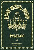 Buchet muzical athonit - Vol. 4 - Poliel...