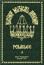 Buchet muzical athonit - Vol. 4 - Polieleele